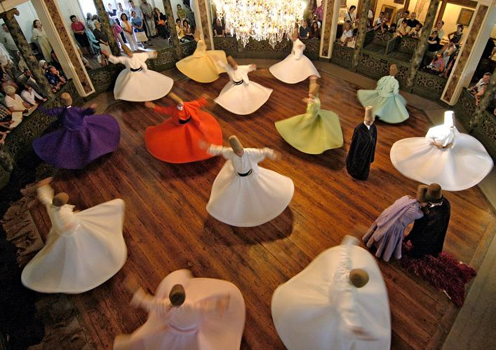 Whirling Dervishes Sufism