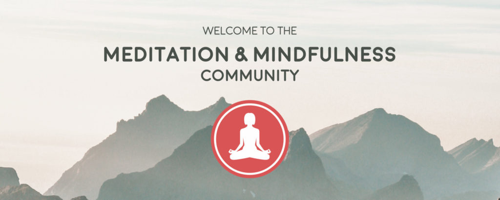 Join our online discord community about meditation & mindfulness