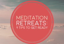What are the risks and benefits of a meditation retreat?