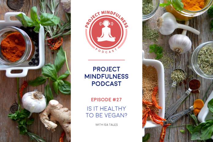Is it healthy to be vegan? We talk with a professional wellness coach about this matter in the podcast